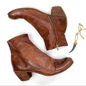 Officine Creative Vero Cuoio booties 39.5 lether